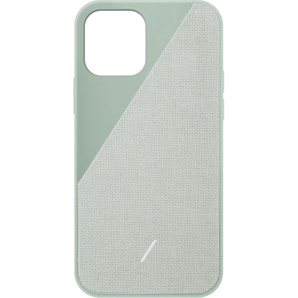 Clic Canvas Case iPhone 12 / 12 Pro Sage - iStore