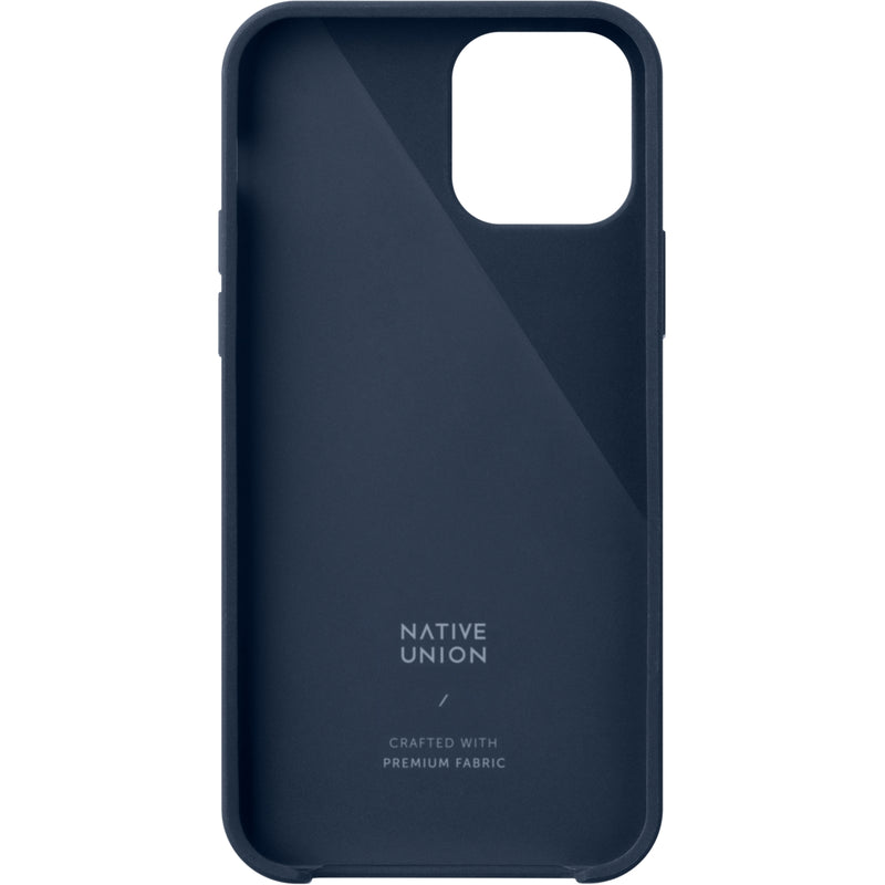 Native Union Clic Canvas Case iPhone 12 Mini Indigo - iStore