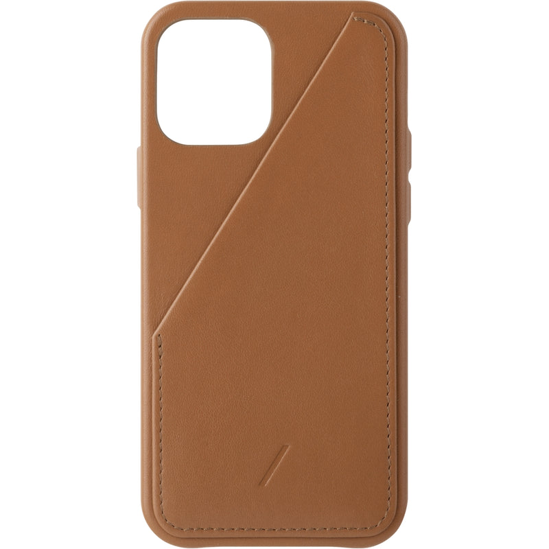 Native Union Clic Card Case iPhone 12 Mini Tan - iStore