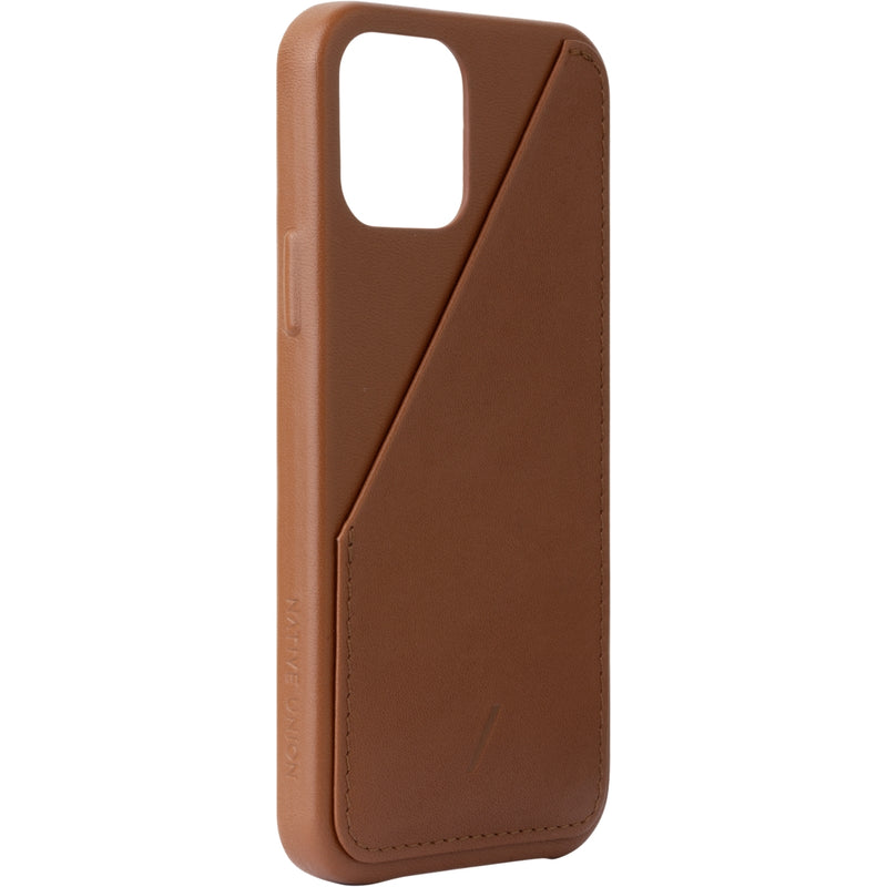 Clic Card Case iPhone 12 / 12 Pro Tan - iStore