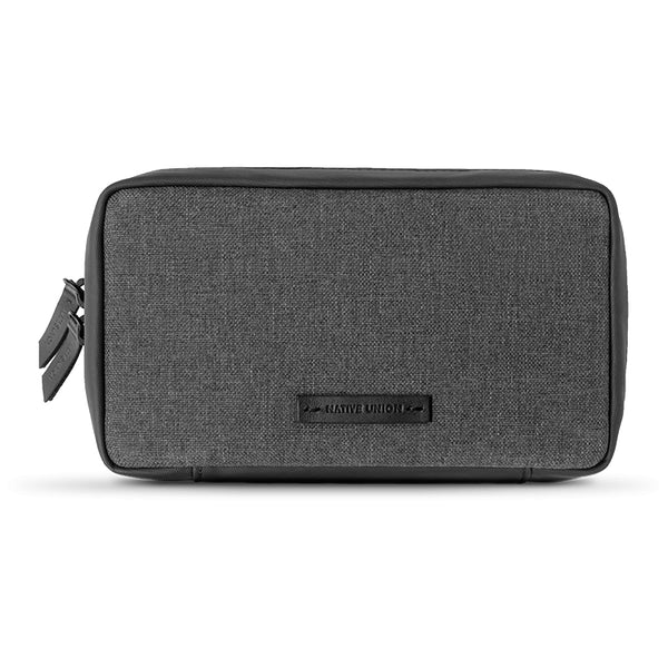 Native Union Stow Organizer Pouch Fabric Slate V2 - iStore