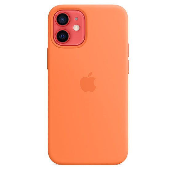 Apple Silicone Case Kumquat - iPhone 12 mini - iStore