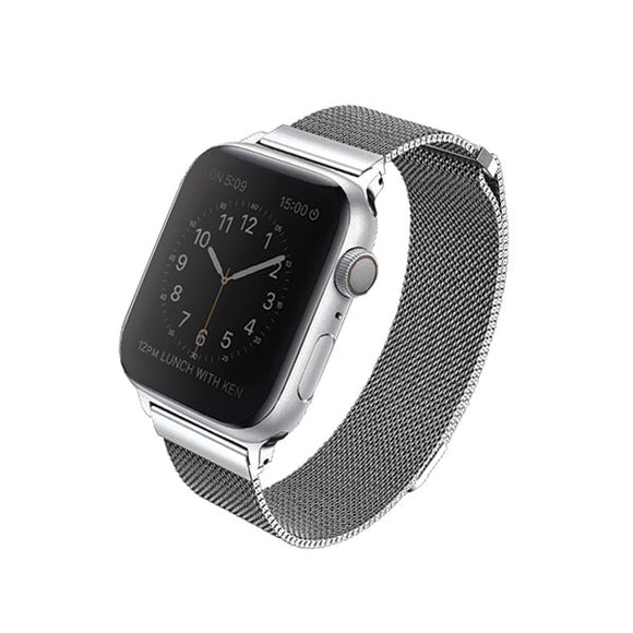 UNIQ Dante Apple Watch Series 40mm - Stainless Steel Sterling Silver - iStore24.de