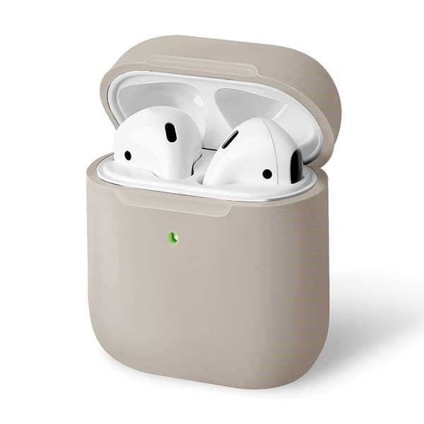 Lino AirPods 1/2 gen. Silicone Hülle Beige Ivory - iStore