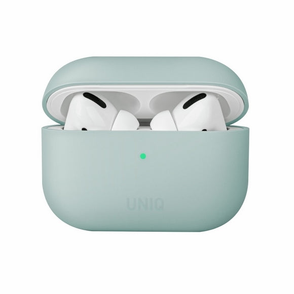 UNIQ Lino AirPods Pro Silicone Case Mint Green