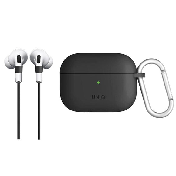 UNIQ Vencer AirPods Pro Silicone Case Charcoal Dark Grey