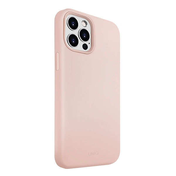 Lino Hue iPhone 12/12 Pro Blush Pink Antimicrobial - iStore