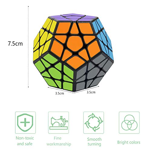 Speed Cube 4x4 Smooth Sticker Magic Puzzle Cube 3D Puzzle Cube Brain Teasers Educational Toy For Kids Adults Coolzon Rubix Cube 4x4x4