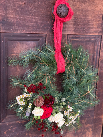 Christmas Wreath - Fresh Traditional Pine