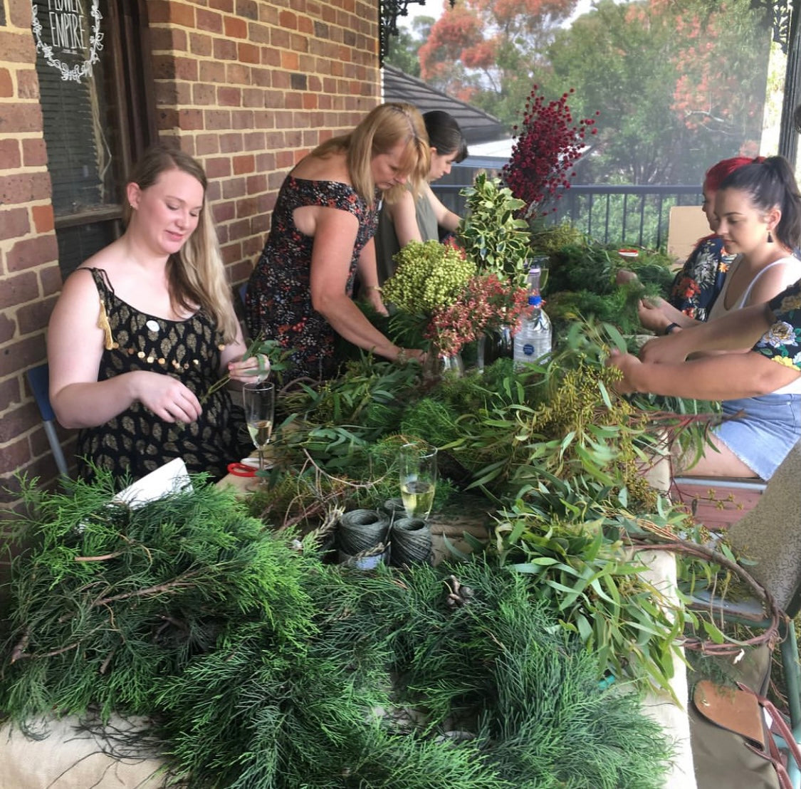 Christmas Wreath Workshop - Fresh