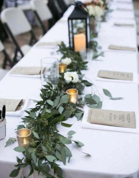 Faux Eucalyptus Garland - FOR HIRE