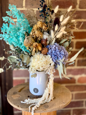 Forever Dried Arrangement in a Ceramic Pot