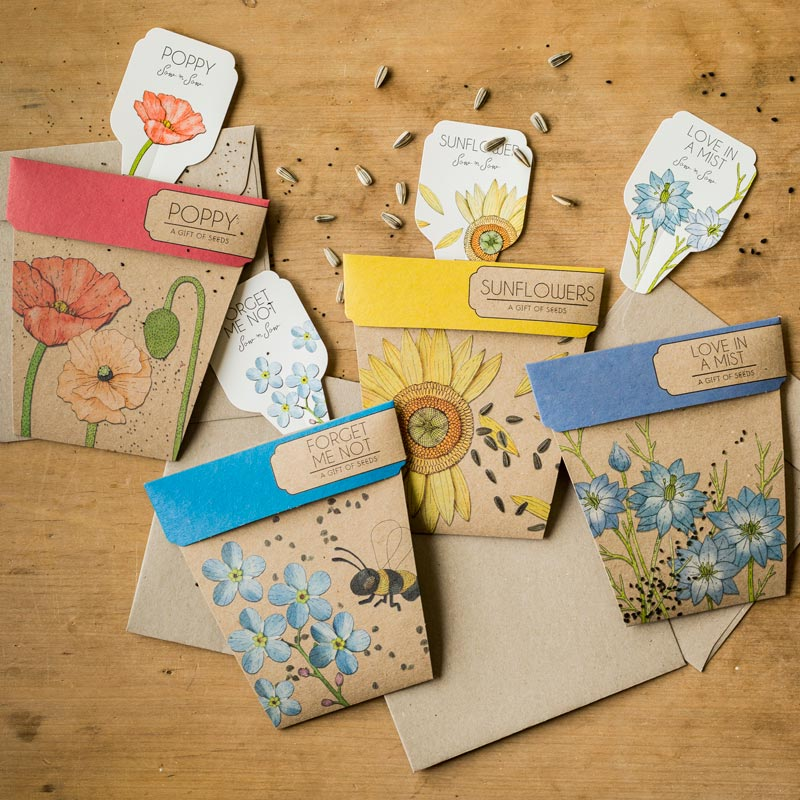 Sow n Sow - eco friendly seed cards