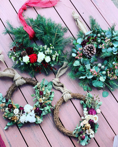 Christmas Wreath Workshop - Dried