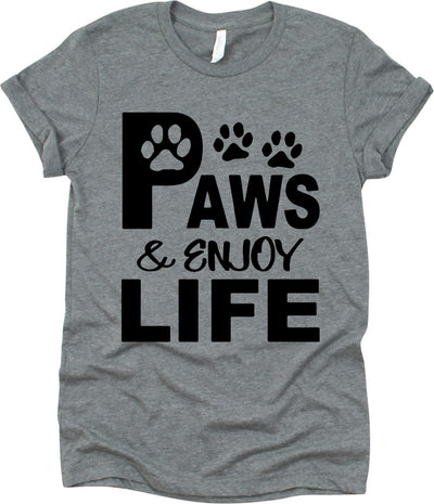 Paws & Enjoy Life With Dog Footprints