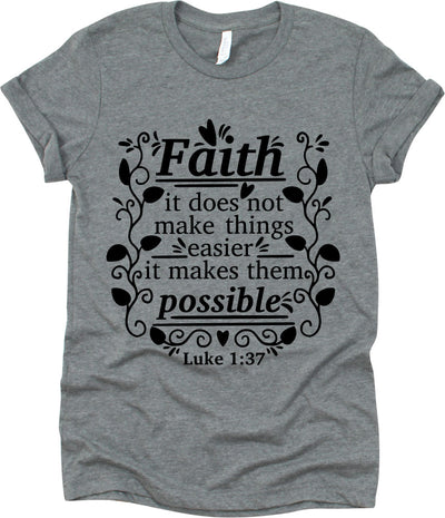 Faith It Does Not Make Things Easier It Makes Them Possible