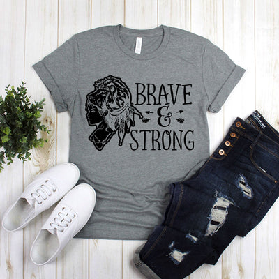 Brave And Strong With A Woman