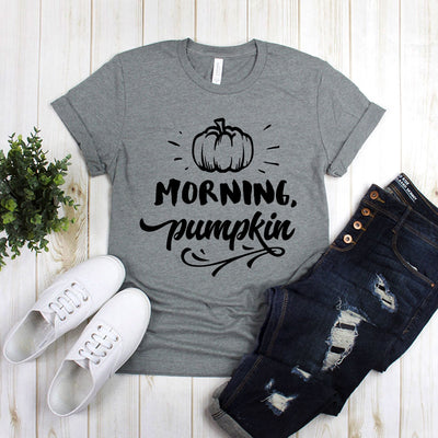 Morning Pumpkin  With Whole Pumpkin
