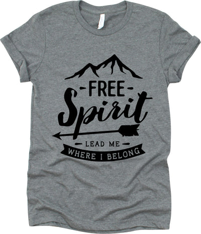 Free Spirit Lead Me Where I Belong