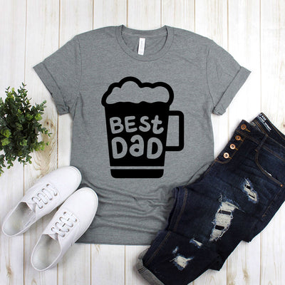 Best Dad Beer Shirt Design