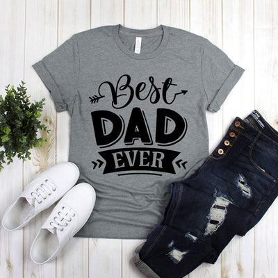 Best Dad Ever With Arrow Design