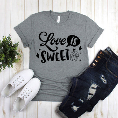 Love Is Sweet With Cupcake