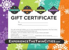 Load image into Gallery viewer, Experience The Twin Cities Gift Certificate