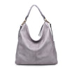 Moda Luxe Allison Women : Handbags : Hobo 842017119241 | Grey