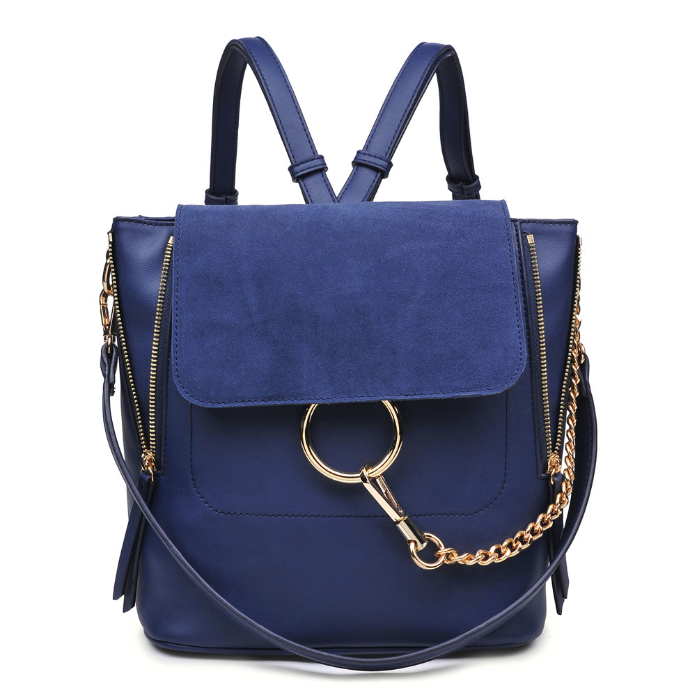 Moda Luxe Channing Women : Backpacks : Backpack 842017108313 | Navy