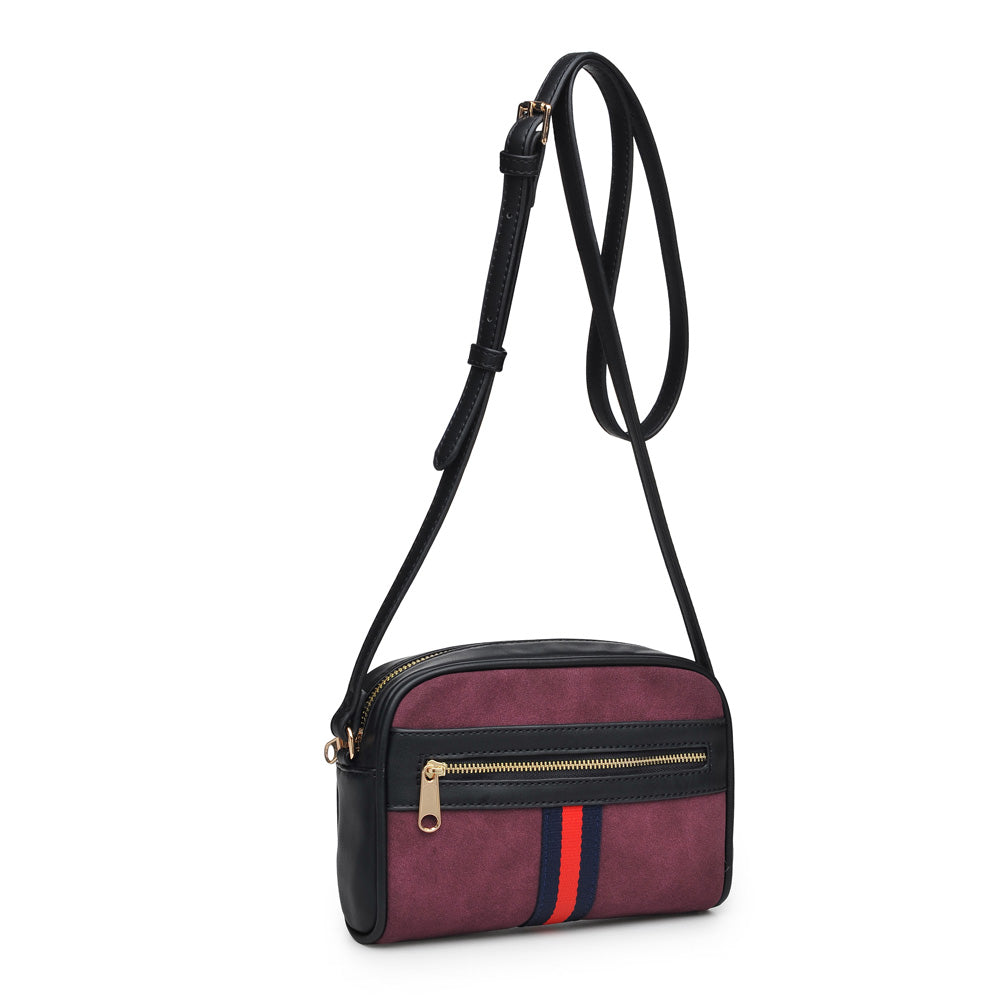 Moda Luxe Julia Women : Crossbody : Crossbody 842017117827 | Burgundy