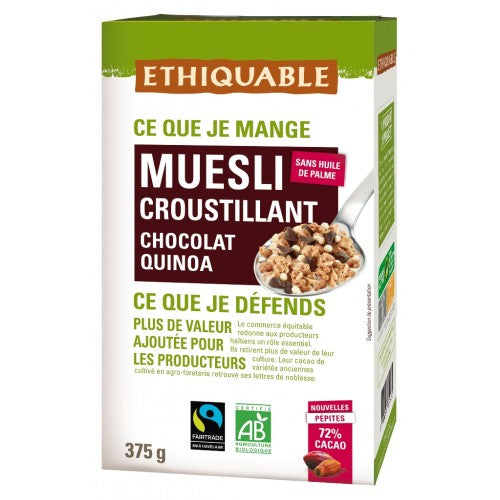 Muesli con virutas de chocolate BIO