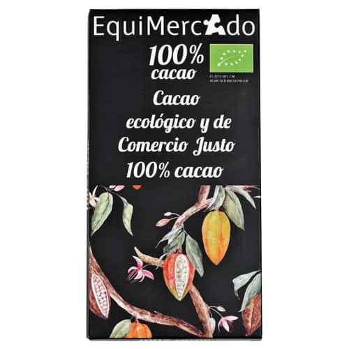 Chocolate 100% cacao BIO