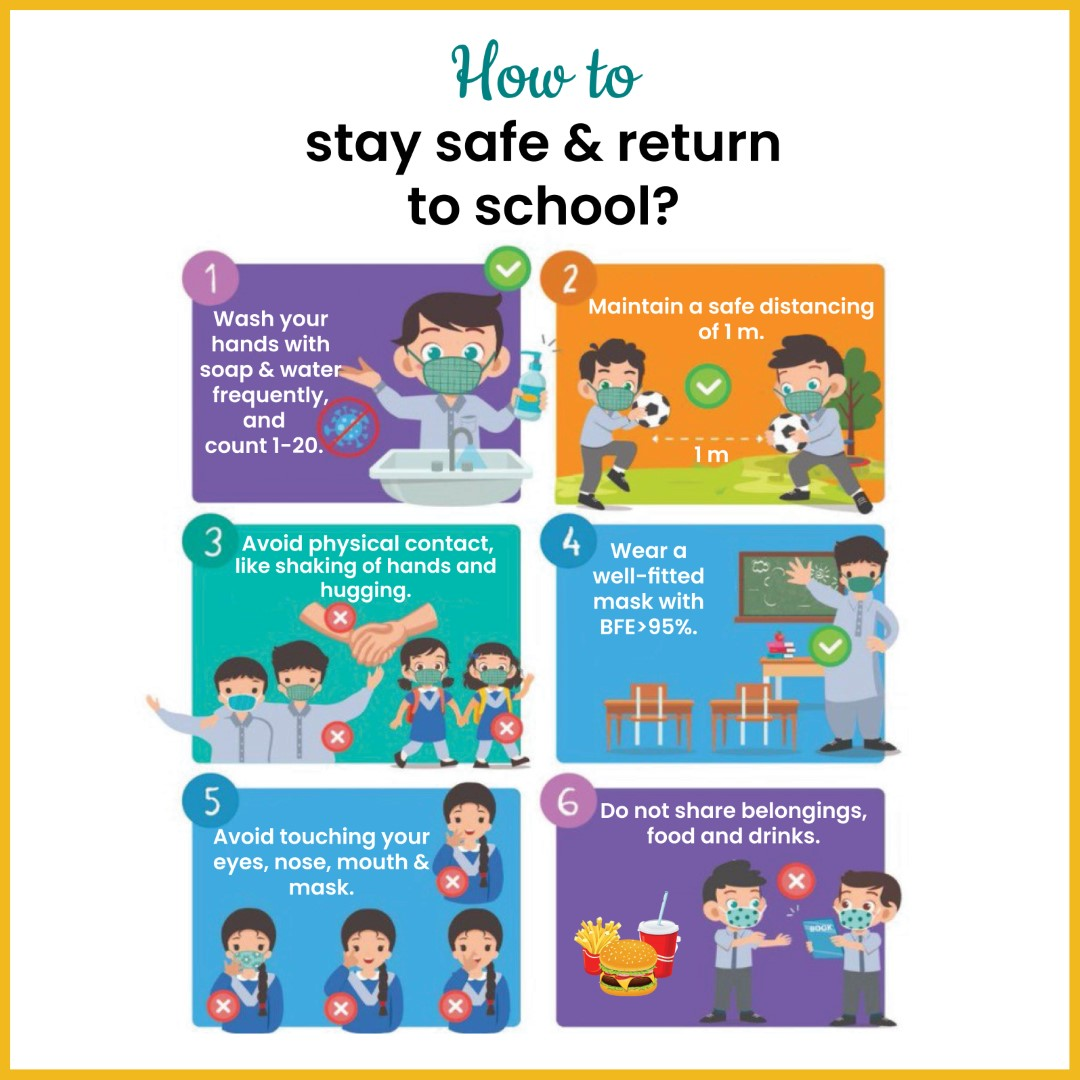 How to stay safe & return to school?