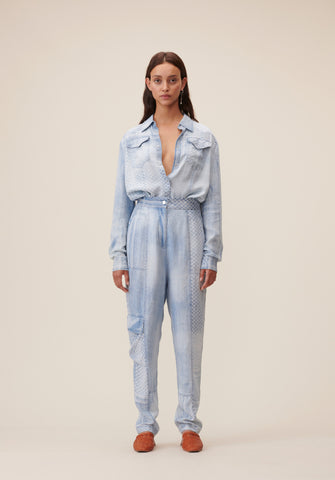 LALA BERLIN PAGET DENIM TROUSERS 53484