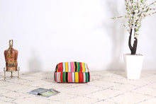 Load image into Gallery viewer, Fabulous Moroccan handmade Kilim pouf