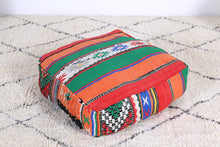 Load image into Gallery viewer, Moroccan kilim pouf