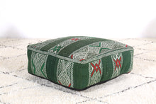 Load image into Gallery viewer, Moroccan pouf kilim