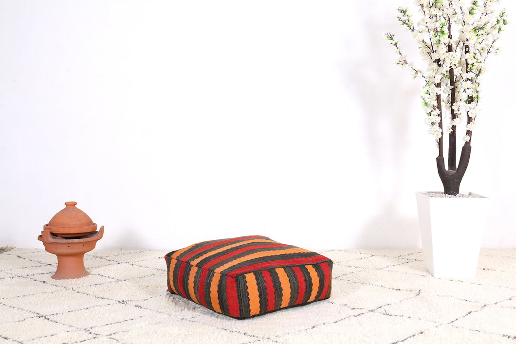 Seating Ottoman wool pouf