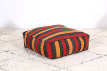 Load image into Gallery viewer, Seating Ottoman wool pouf