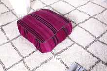 Load image into Gallery viewer, handmade pouf kilim