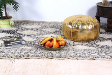 Load image into Gallery viewer, Wedding Gift Gold Ottoman Pouf