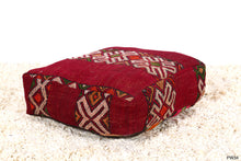 Load image into Gallery viewer, Floor cushion kilim pouf