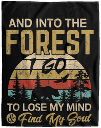 And Into The Forest I Go Shirt Camping Hiking Adventure