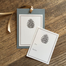Load image into Gallery viewer, Pinecone Gift Tags & Labels