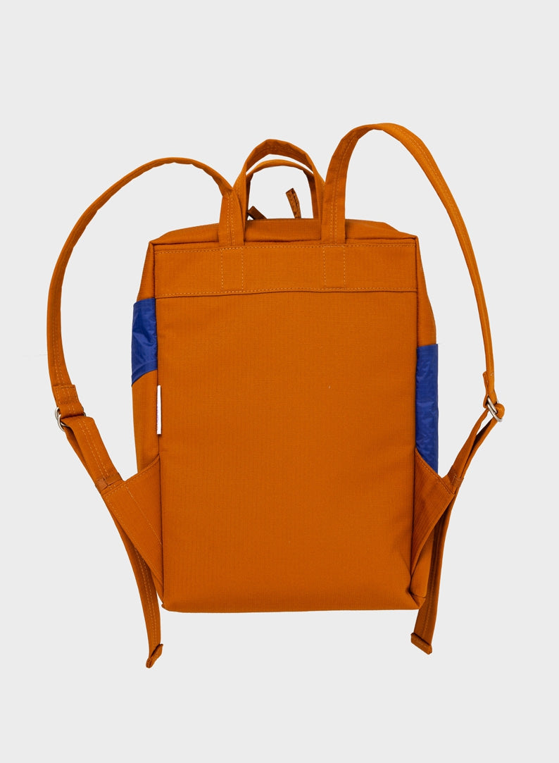 The New Backpack Sample & Electric Blue