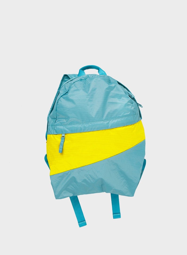 The New Foldable Backpack Concept & Fluo Yellow Medium