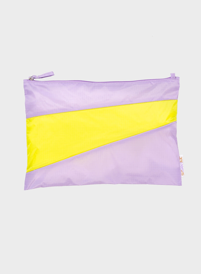 The New Pouch Idea & Fluo Yellow Large