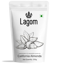 Load image into Gallery viewer, Lagom California Almonds (Baadaam)