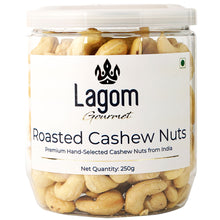 Load image into Gallery viewer, Lagom Gourmet Roasted & Salted Indian Cashew Nuts (Kaju)