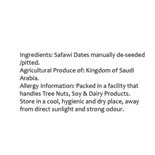 Load image into Gallery viewer, Lagom Gourmet Seedless Saudi Safawi Dates